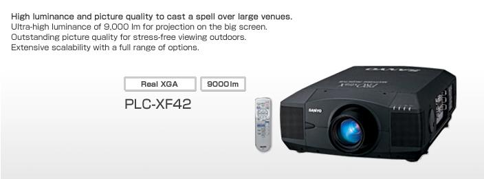 PLC-XF42 3 LCD-流明9000
